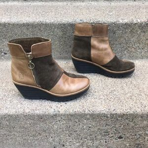 Fly London Womens Ankle Boots Size 6.5-7